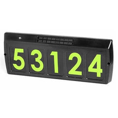 Gama Sonic Solar Address Sign
