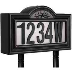 Pine Top Solar Address Sign
