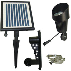 Professional Solar Flag Light