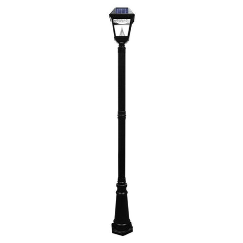 Solar lamp post lights outdoor solar store solar imperial ii lamp post light mozeypictures Choice Image