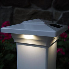 Windsor Solar Cap Light - White