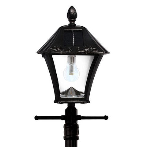 Baytown Solar Lamp Post Planter