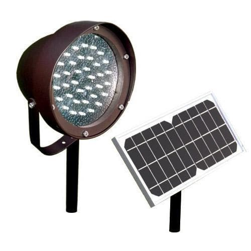 Ground Commercial Solar Flag Light