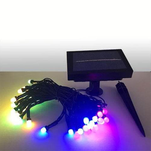Premium Multi-Color Solar Christmas Light String