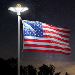 Professional Solar Disk Flag Light