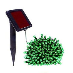 Green Solar Christmas Light String