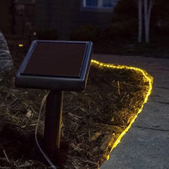 Warm White Rope Solar Lights