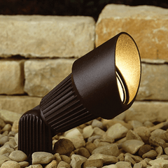 Warm White Solar Spot Light