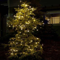 Warm White Solar Christmas Light String