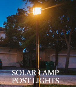 Imperial Ii Triple Lamp Post Outdoor Solar Store