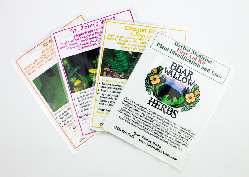 Plant Photo ID Card Set (First Aid)