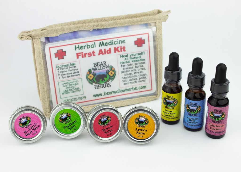 Herbal Medicine First Aid Kit