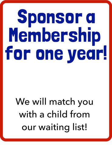 Sponsor an Annual Membership