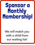 Sponsor a Monthly Membership