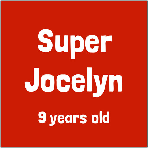 Sponsor Super Jocelyn!