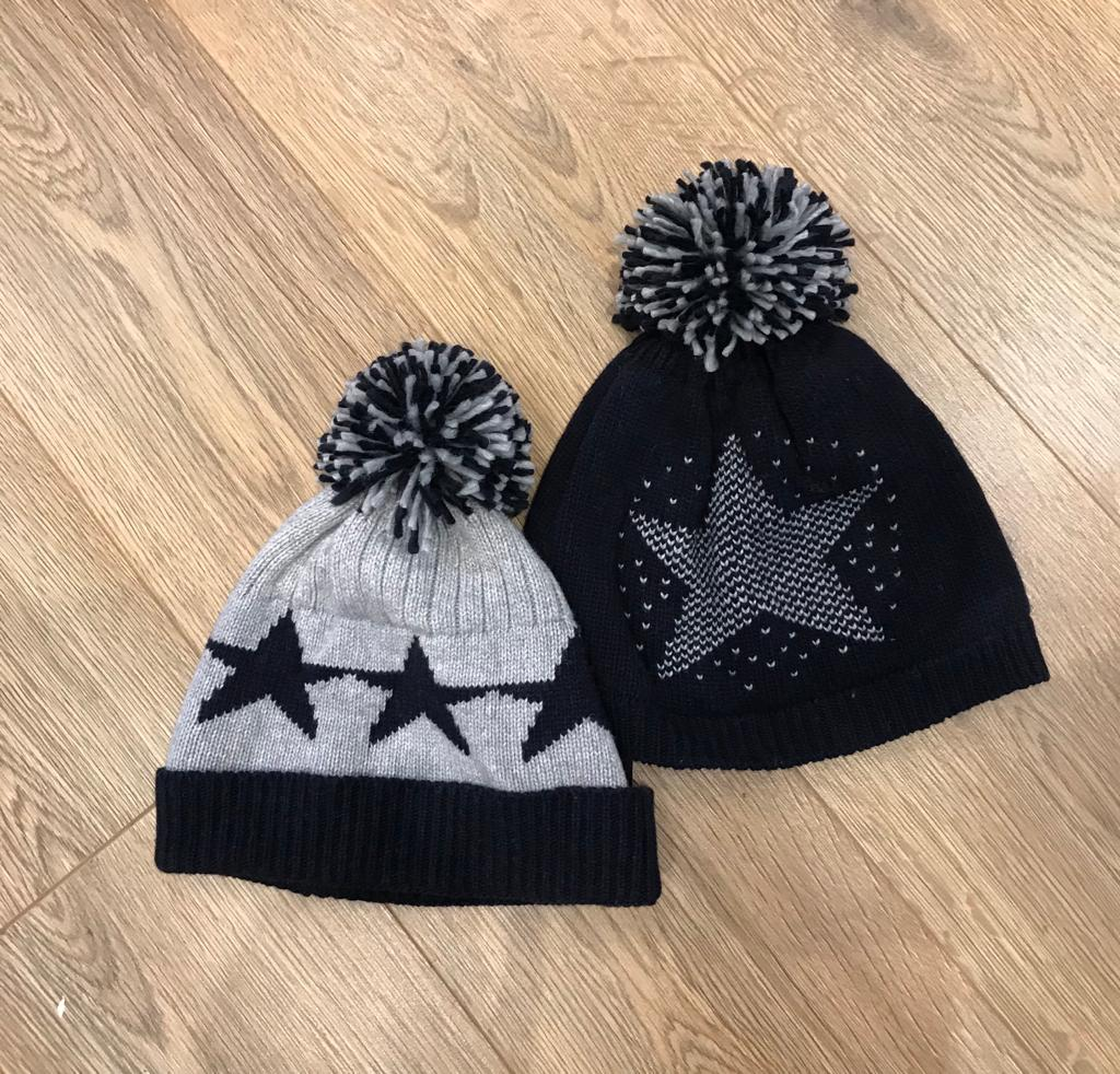 Star bobble hat