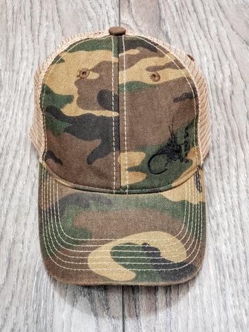 "Snapback Trucker ""Fly"" Hat"
