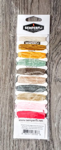 Semperfli Wooly Bugger Mixed Chenille Pack