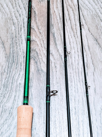 "Custom 9' 5wt ""Green Dragon"" Fly Rod"