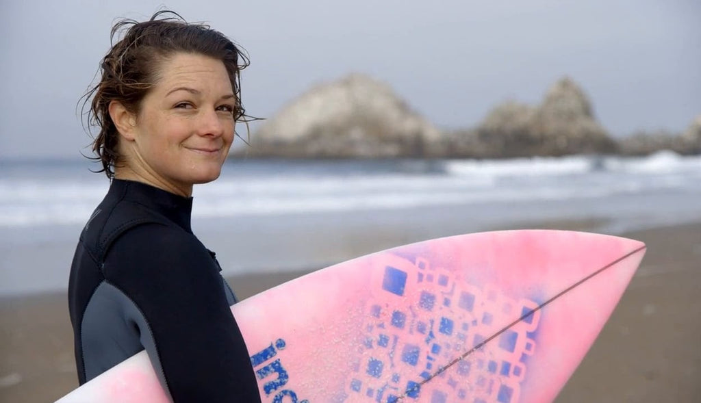 Help Support Bianca Valenti in the first EVER WSL Womens Big Wave Surf Contest