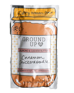 Ground Up Cinnamon Snickerdoodle Nut Butter Sample