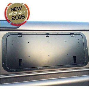 Rough-Parts Gull wing Window Inserts - Exterior Security