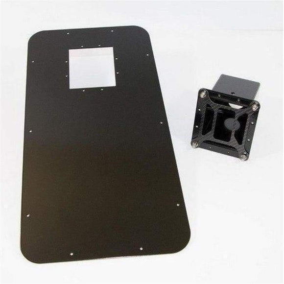 Rough parts rear window insert RHS - Exterior Security