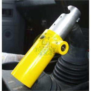 X Defend Gear Stick Lock R380 for Land Rover Defender - Pedal Locks