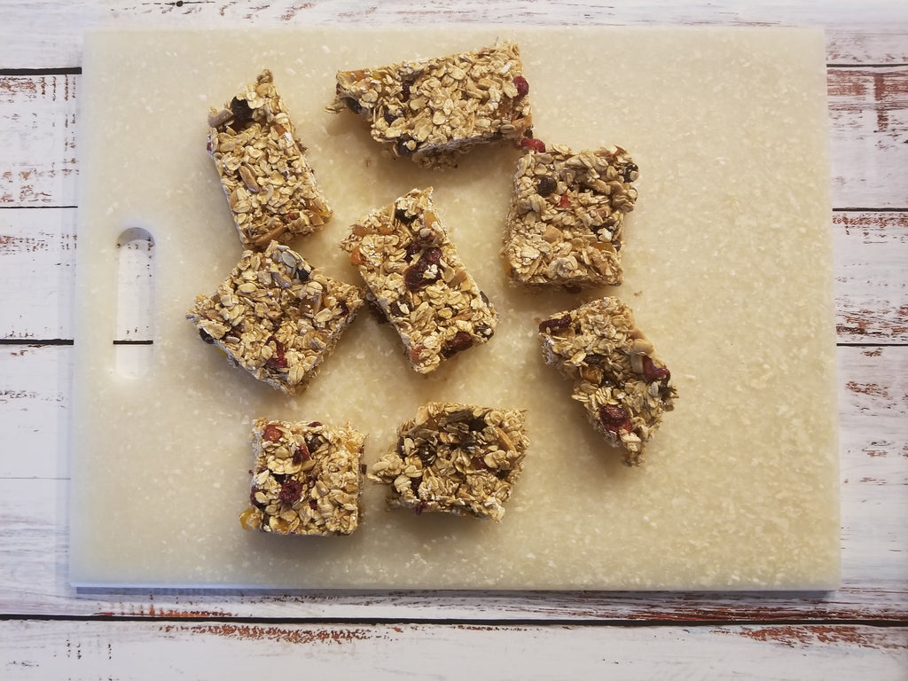 Honey Apple Butter Granola Bars