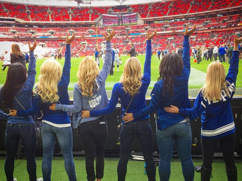indianapolis colts cheerleaders london wembly stadium