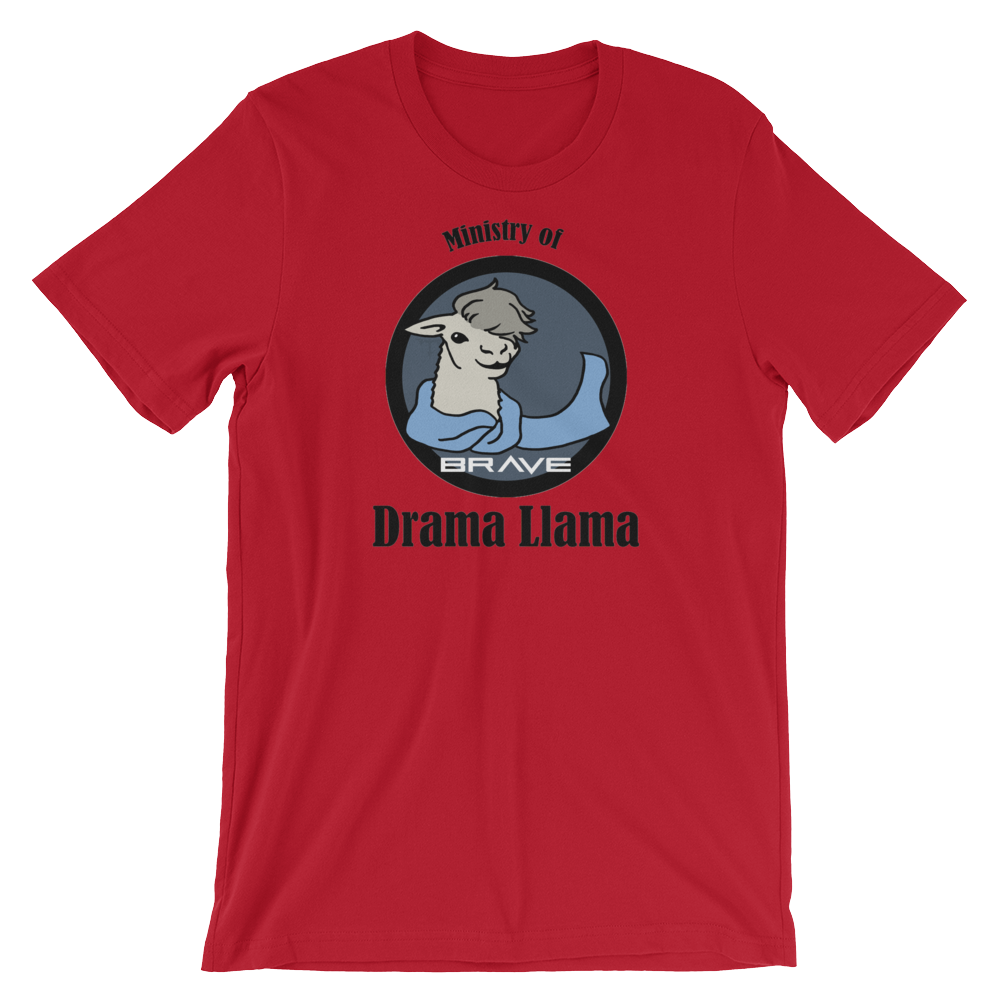 Ministry of Drama Llama Uniform Shirt.