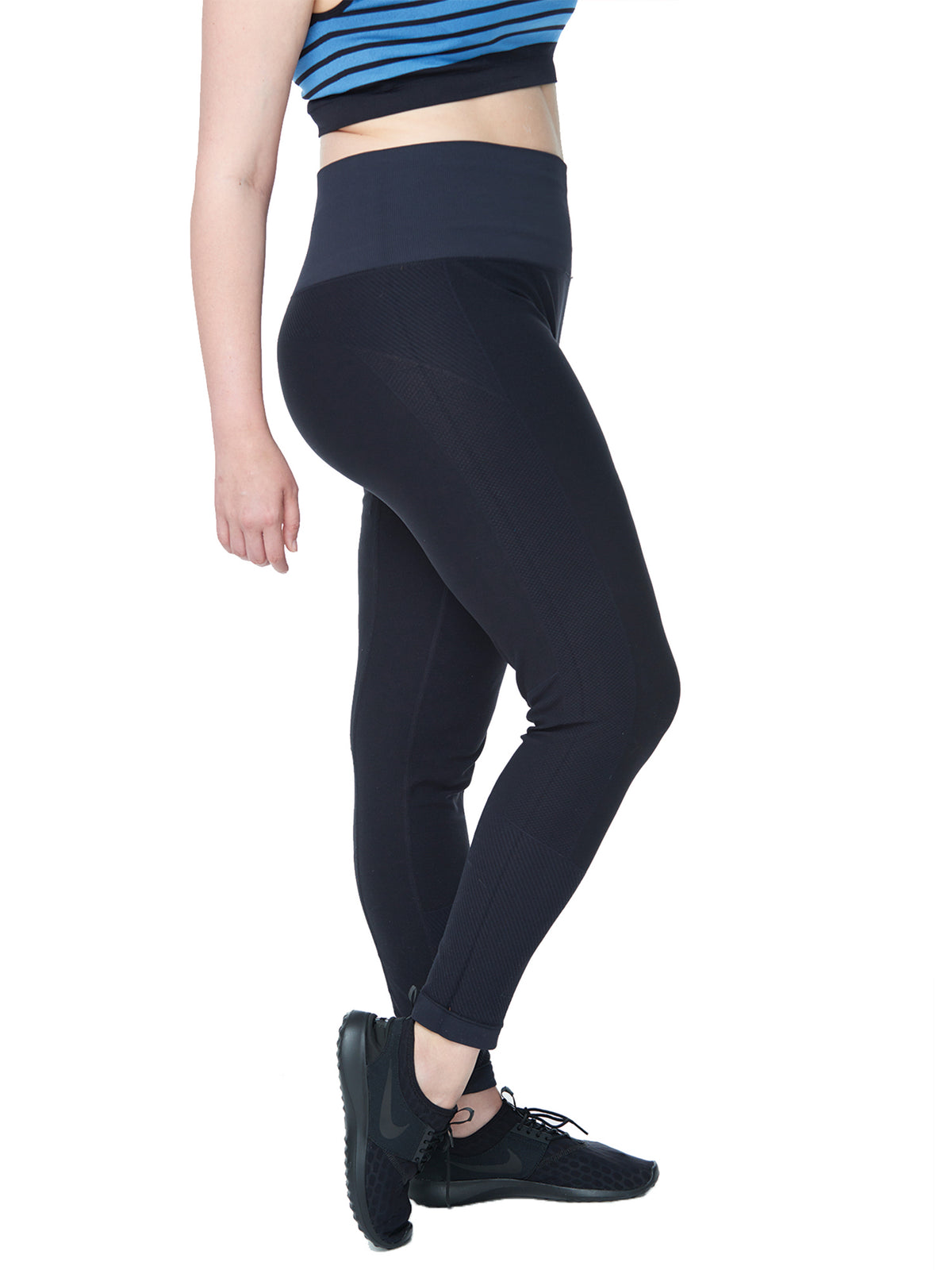 4d4df82bd574d Women's Plus Active Seamless High Impact Fitness Legging with Stretch –  Under Control