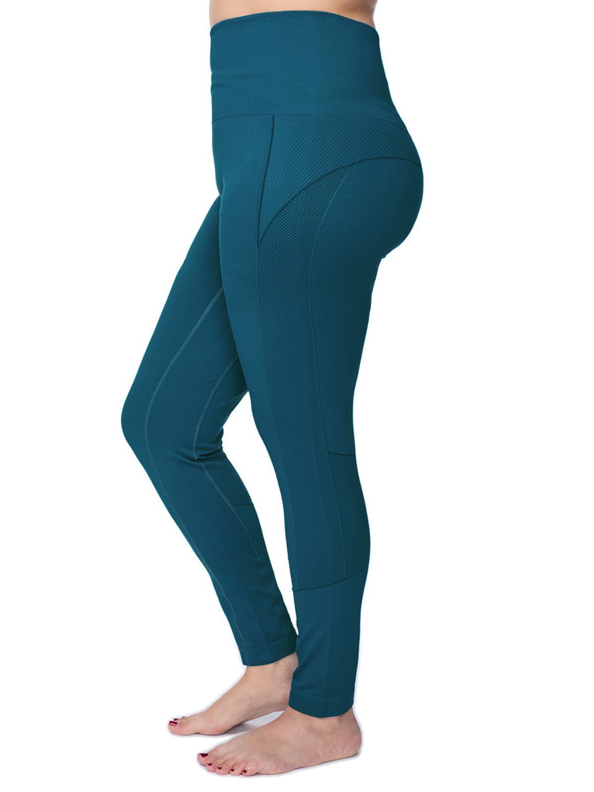 3d532a95c7f Women s Plus Active Seamless High Impact Fitness Legging with Stretch –  Under Control