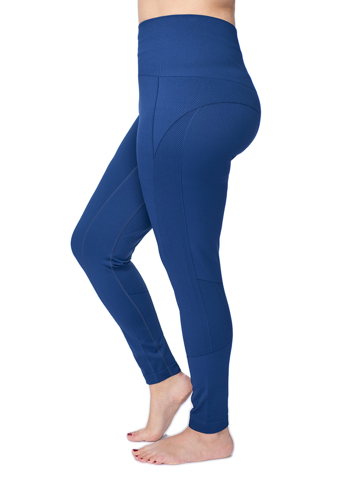 76a218ec1e0bc2 Women's Plus Active Seamless High Impact Fitness Legging with Stretch –  Under Control
