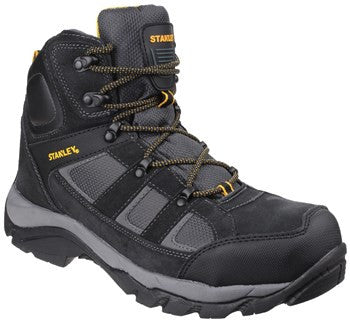 STANLEY SAFETY BOOT HIKER BLACK