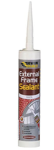 EVERBUILD EXTERNAL FRAME ACRYLIC SEALANT BROWN 310ML