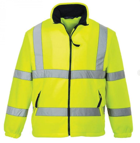 HI VIS FLEECE MESH LINED PORTWEST YELLOW