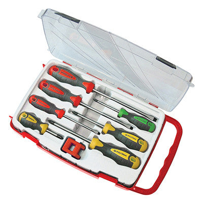 FAITHFULL 7 PIECE SCREWDRIVER SET & MAGNETISER