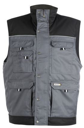 DASSY® BODY WARMER TWO-TONE GREY/BLACK