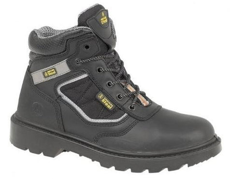 AMBLERS SAFETY BOOT BLACK