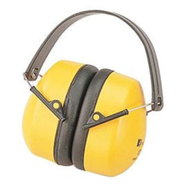 EAR DEFENDERS YELLOW/BLACK