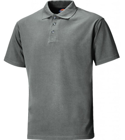 SHORT SLEEVE POLO SHIRT GREY DICKIES
