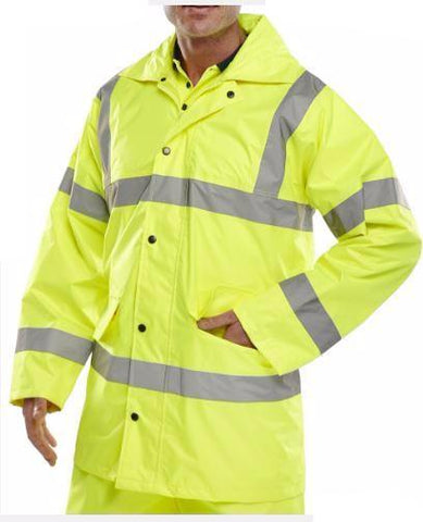 HI VIS JACKET LIGHTWEIGHT SATURN YELLOW