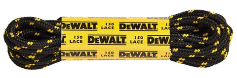 DEWALT BOOT LACES POLYESTER/COTTON 150CM (1 PAIR)