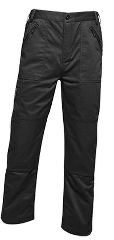 REGATTA PRO ACTION KNEEPAD TROUSERS Black