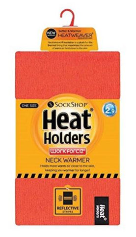 HEAT HOLDER NECK WARMER - WITH REFLECTIVE STRIPES