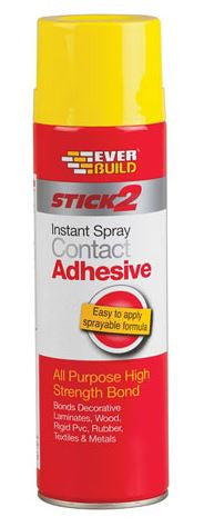 EVERBUILD STICK 2 SPRAY CONTACT ADHESIVE 500M