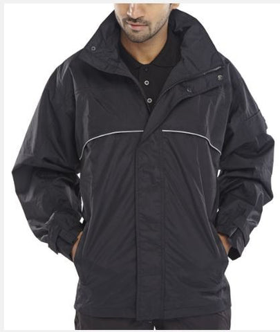 WATERPROOF JACKET BREATHABLE SLATERY BLACK