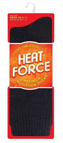 SOCKS HEAT FORCE BLACK