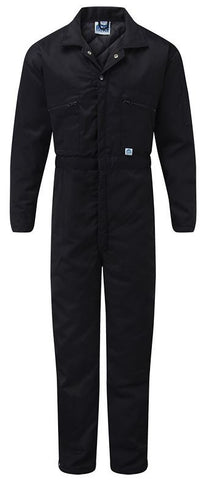 QUILTED BOILER SUIT Navy